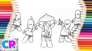 Lego Ninjago Coloring Pages,Red,Blue,How to Color All Lego Ninjago Coloring Pages Tv,Ninjago Drawing