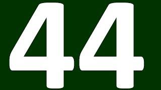 АНГЛИЙСКИЙ ЯЗЫК ДО ПОЛНОГО АВТОМАТИЗМА С САМОГО НУЛЯ  УРОК 44 УРОКИ АНГЛИЙСКОГО ЯЗЫКА