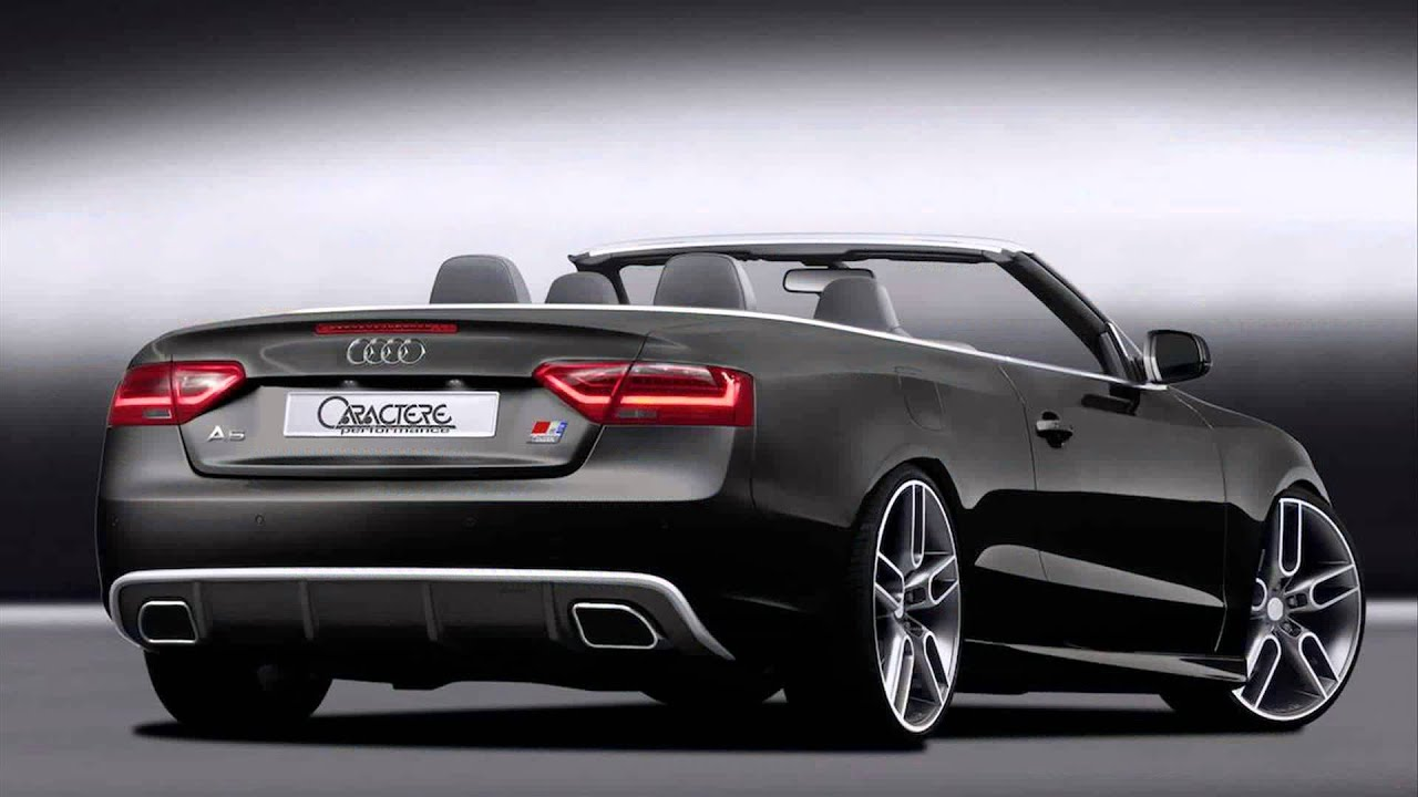 2015 audi a5 cabriolet - YouTube