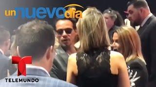 ¡Marc Anthony buscó a JLo durante toda la noche!   Un Nuevo Día   Telemundo