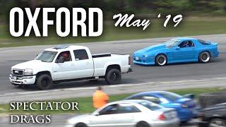 Spectator Drags at Oxford Motor Mayhem #1 May 2019