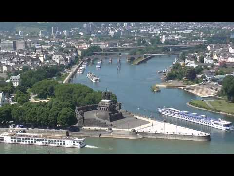 Train, River Cruise, Bus, Bicycle and Walk Along the UNESCO Middle Rhine
