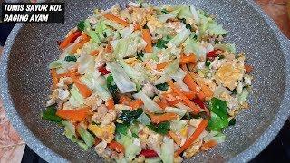 Download Mp3 Resep Tumis Sayur Kol Daging Ayam Yg Mudah Dan Enak