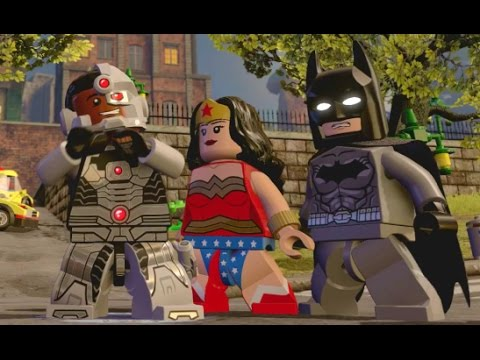 LEGO Dimensions - All Collectibles - DC Comics Adventure World (Wave 1)