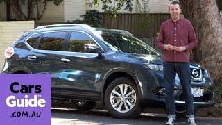 2016 Nissan X-Trail ST-L petrol 7-seater review | road test video
