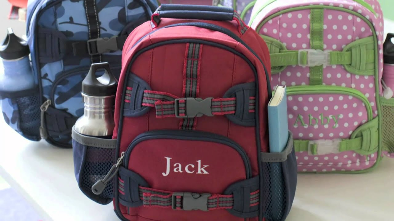 how to choose the right backpack pottery barn kids youtube