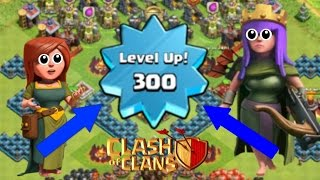 Clash of Clans - LEVEL 300 PLAYER | MAYBE BEST PLAYER IN THE WORLD? (MUST WATCH)