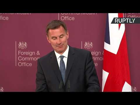 LIVE: Jeremy Hunt and Mike Pompeo hold joint presser in London