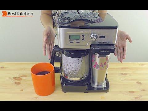 Hamilton Beach Single Serve Coffee Brewer And Full Pot