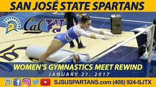 Women's Gymnastics at Cal with Washington, Jan. 21, 2017