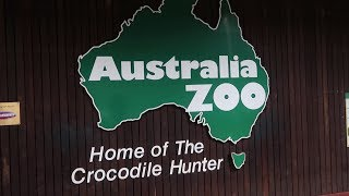 TOURING STEVE IRWIN'S AUSTRALIA ZOO!