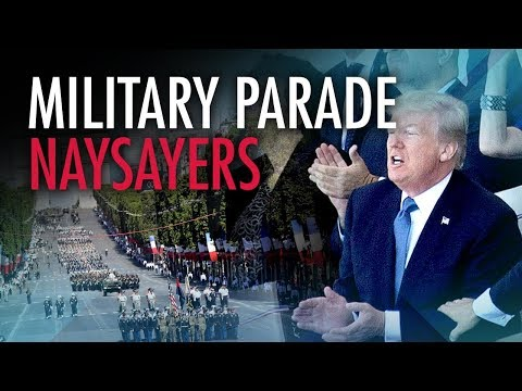 "Left lose their ""collective minds"" over Trump's military parade"