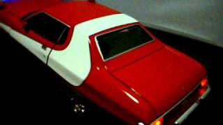 Starsky and Hutch Car Diecast Gran Torino 1/18 scale with working lights