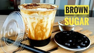 How to make Brown Sugar Milk with tapioca Pearls | Tiger Sugar milk tea recipe (Bubble Tea)