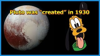 Pluto the Planet/Cartoon was Created in 1930