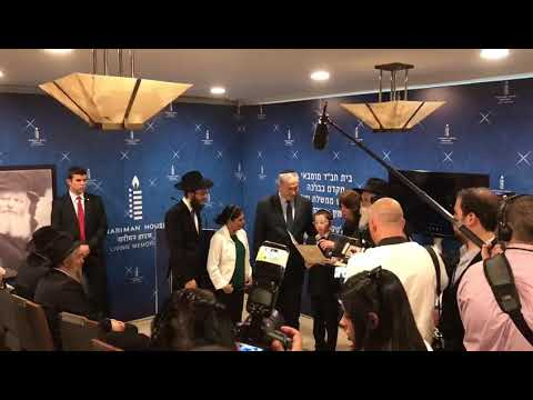 Mumbai terror orphan with Israeli prime minister on visit to India