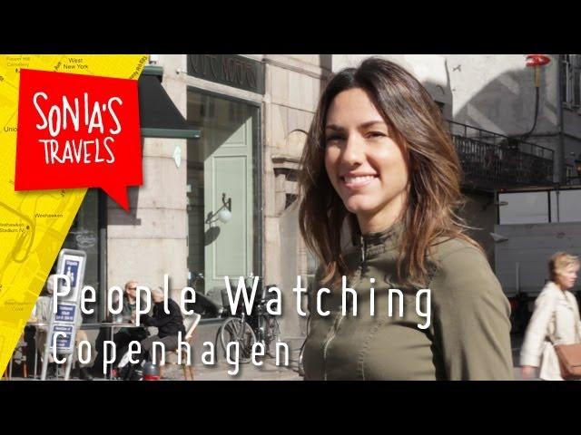 People watching Copenhagen