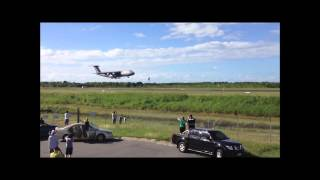 C-5 Galaxy Landing in Cairns, Australia
