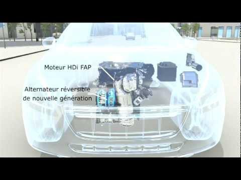 e-HDi, la technologie micro hybride des moteurs PSA Peugeot Citroën