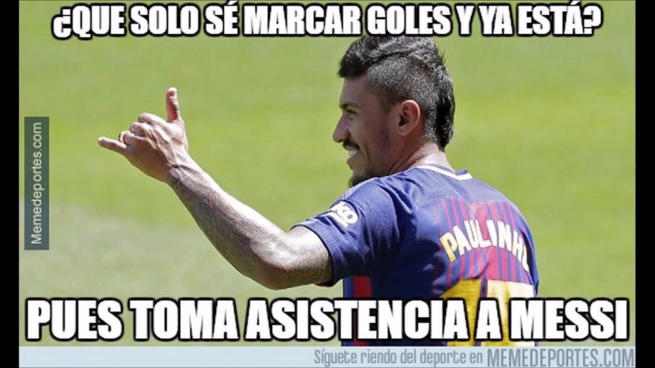 Los Mejores Memes Del Barcelona Vs Eibar Youtube