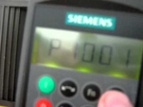 Điều khiển động cơ AC không đồng bộ 3 pha bằng biến tần siemens MM 420