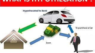 What is Hypothecation ?(In Hindi) | Explained with detailed Example