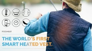 FOOMEXT | The World's First Smart Heated Vest - Commercial