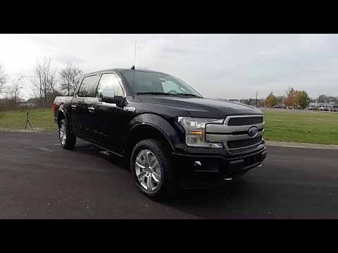 2018 Ford F 150 Platinum Supercrew 4x4 Walk Around Video In Depth Review