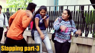 Slapping Prank on Cute Girls Part-3 😲😲 Prank Gone Wrong - PrankBuzz