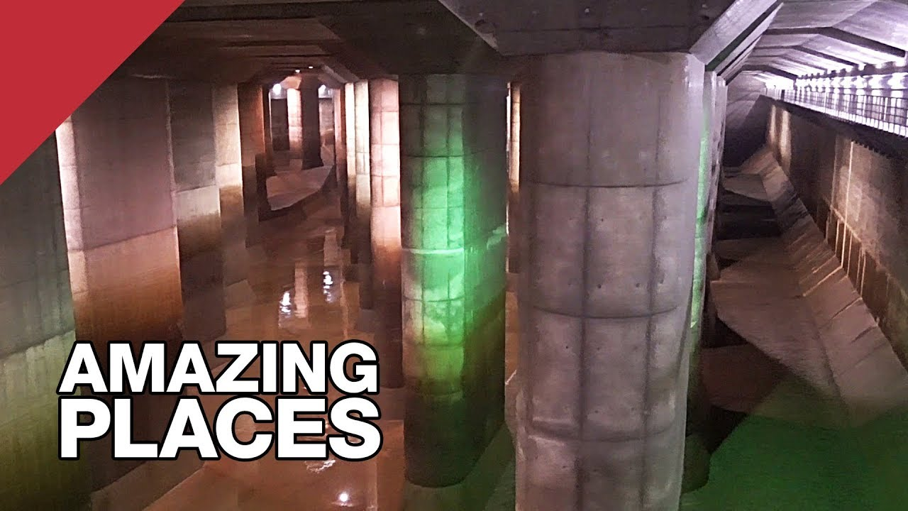 The Giant Underground Tunnels Protecting Tokyo From Floods