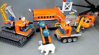 Лего Сіті Арктичний Дослідник Задає Коментар 60036 60033 60034