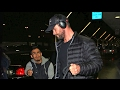 Chris Hemsworth Is Swarmed By Fans At LAX