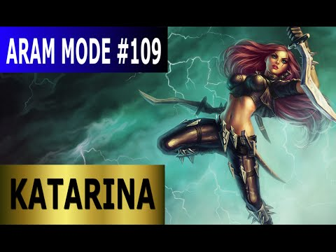 Katarina - Aram Mode #109 Full League of Legends Gameplay [Deutsch/German] Let's Play LoL