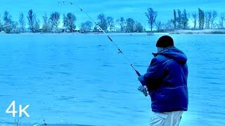 Рыбалка на Дону в январе 2021