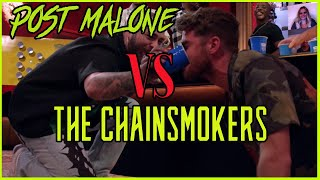 Post Malone VS The Chainsmokers Beer Pong Tournament (REACTION)