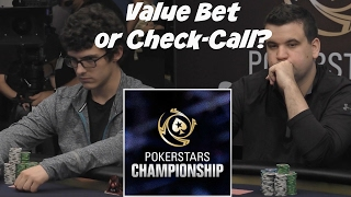 Value Bet or Check-Call?