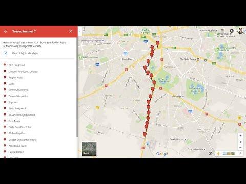 Harta Trase Tramvai 7 Bucuresi Ratb Regia Autonoma De Transport