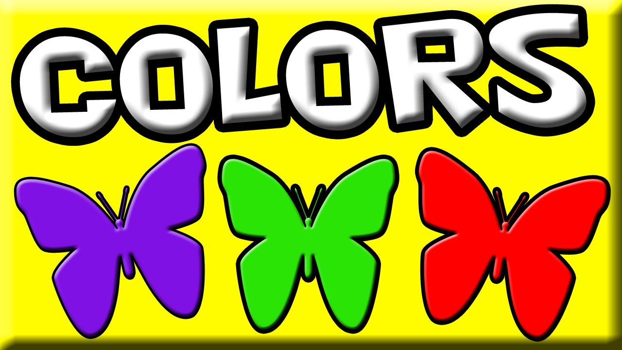 Colors for Kids | Learn Colors | English Colors | Children Colors ...