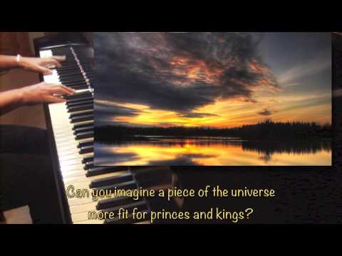 SONG FOR THE MIRA - Piano Solo (lyrics - all verses with pictures)