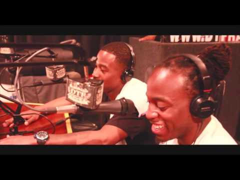 JUSLUV & AB3 AT DTF RADIO BROOKLYN NY