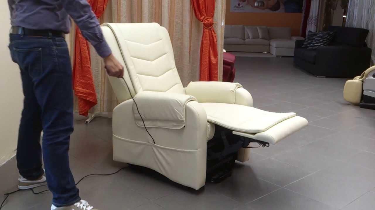 Poltrona elettrica relax michela motori kit vibro agevolazione
