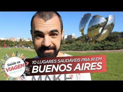 ✈ BUENOS AIRES: 10 LUGARES SAUDÁVEIS PARA CONHECER 🇦🇷  | Ep. piloto | Saúde na Viagem