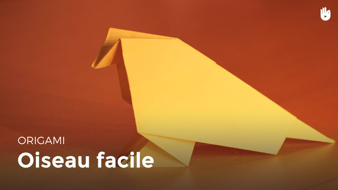 Origami oiseau en papier facile hd youtube - Video d origami facile ...
