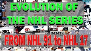 Evolution of the NHL Series NHL 91 to NHL 17 Review