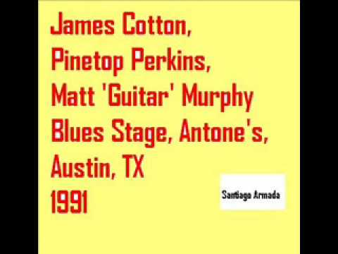 James Cotton, Pinetop Perkins, Matt 'Guitar' Murphy  - Blues Stage, Antone's, Austin, TX 1991