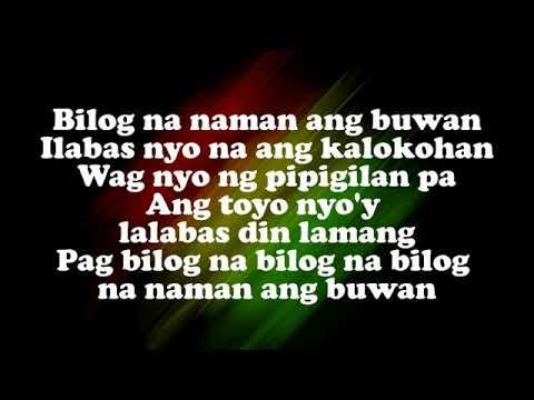 Bilog Na Namam Ang Buwan - Reggae