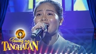 "Tawag ng Tanghalan: Maricel Callo sings - ""The Search Is Over"""