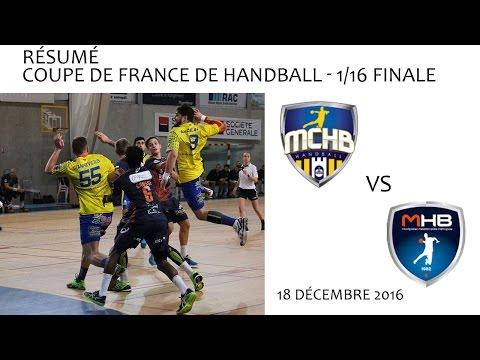 Séquence Handball CdF 16ème de Finale Montélimar vs Montpellier 18 12 2016