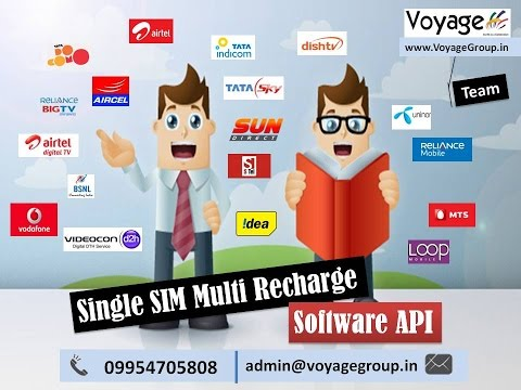 Leading Single SIM Multi Recharge Software API in India