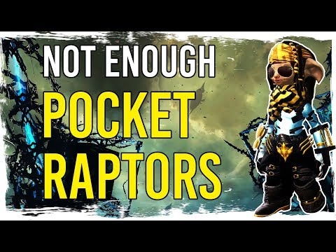 Guild Wars 2 - Not Enough POCKET RAPTORS! :-) thumbnail